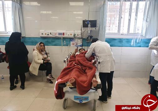 واژگونی مرگبار اتوبوس اصفهان/ ۲۸ نفر کشته و مصدوم شدند