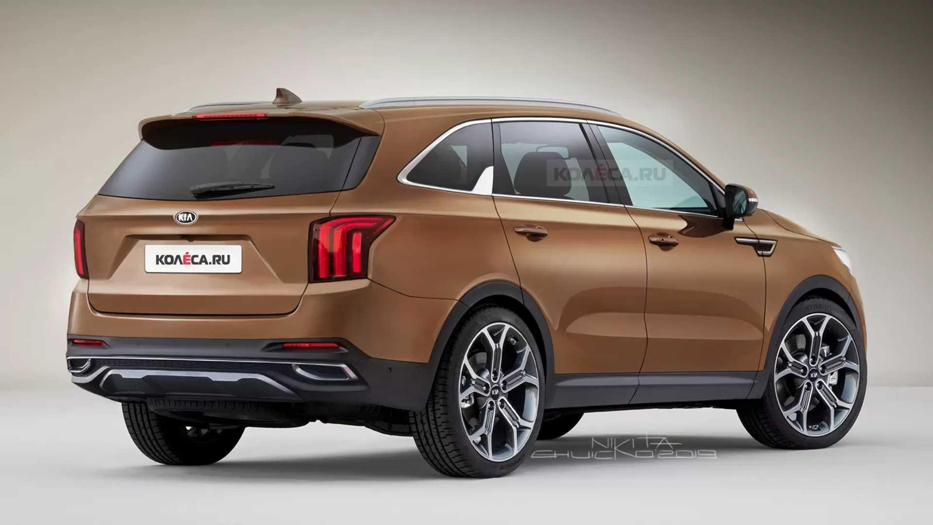 نسل جدید خودرو کیا سورنتو در راه است