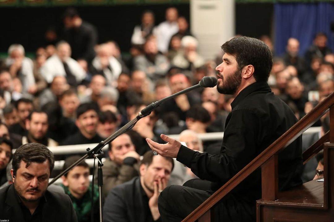 تصاویری از مراسم عزاداری شب شهادت حضرت زهرا (س) در بیت رهبری
