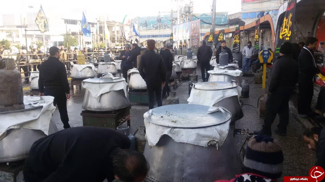 پخت و توزیع ۵۰ دیگ دمپخت به مناسبت شهادت کوثر آل محمد