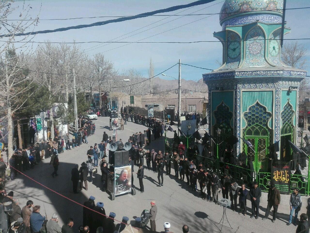کرمان غرق عزای فاطمه