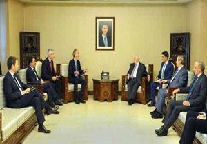 ادامه گفتوگوهای فرستاده سازمان ملل و وزیر خارجه سوریه درباره کمیته قانون اساسی