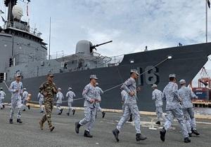 رزمایش مشترک دریایی عربستان و آمریکا در خلیجفارس