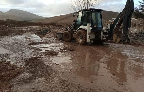 خسارت ۱۵ میلیاردی سیل به راههای شهرستان سیروان