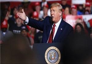 ترامپ: رسانه های آمریکا در پوشش اخبار کرونا دچار تشنج شده اند