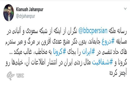 موجسواری رسانههای بیگانه بر موج کرونا در ایران