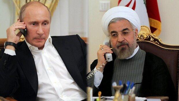 روحانی با پوتین تلفنی گفتگو کرد