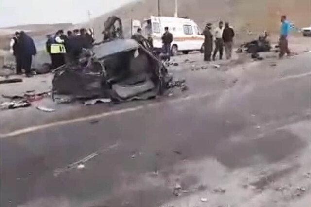 بی احتیاطی در جادههای کردستان ۲ کشته برجای گذاشت