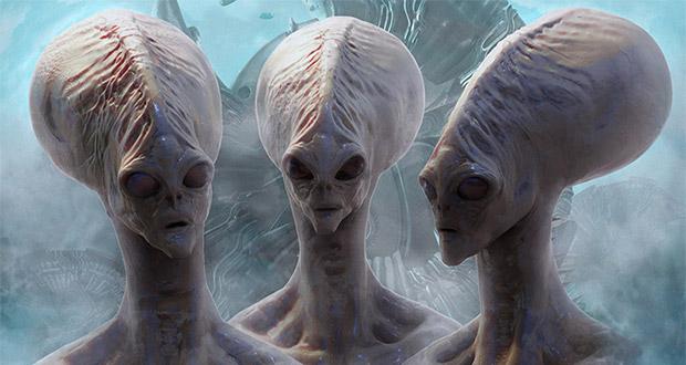 ۱۰ تصویر تاریخی و نایاب از بیگانگان و موجودات فضایی