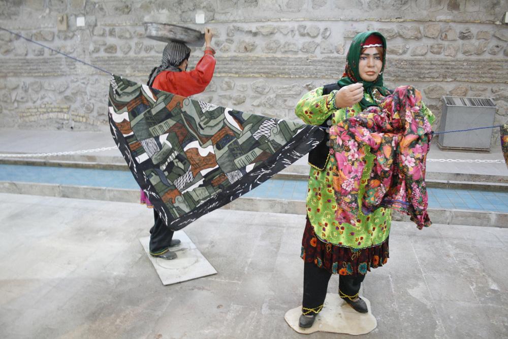 عطر زندگی در رختشویخانه زنجان