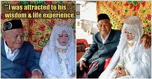 ازدواج مرد 103 ساله با دختر 27 ساله!///