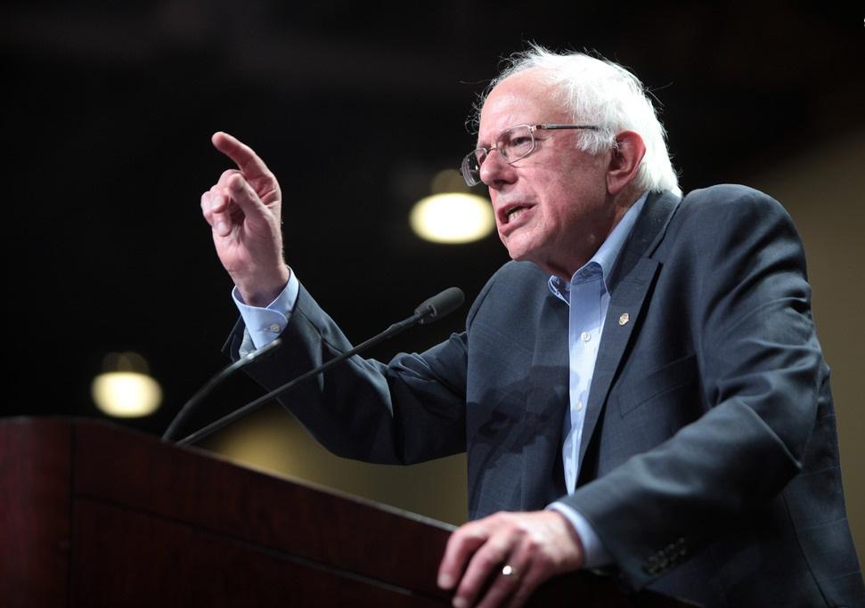 برنی سندز، سناتور دموکرات و نامزد انتخابات ریاستجمهوری آمریکا