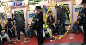 سرفه کردن در مترو