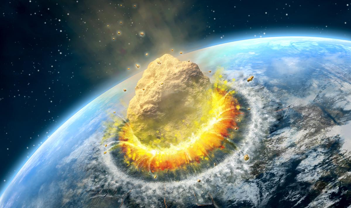 احتمال انقراض بشریت با نزدیک شدن شهاب سنگ بزرگ