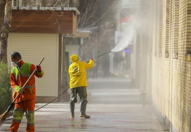 خیابان وحدت اسلامی و مولوی گام بعدی در گند زدایی معابر برای مقابله با کرونا