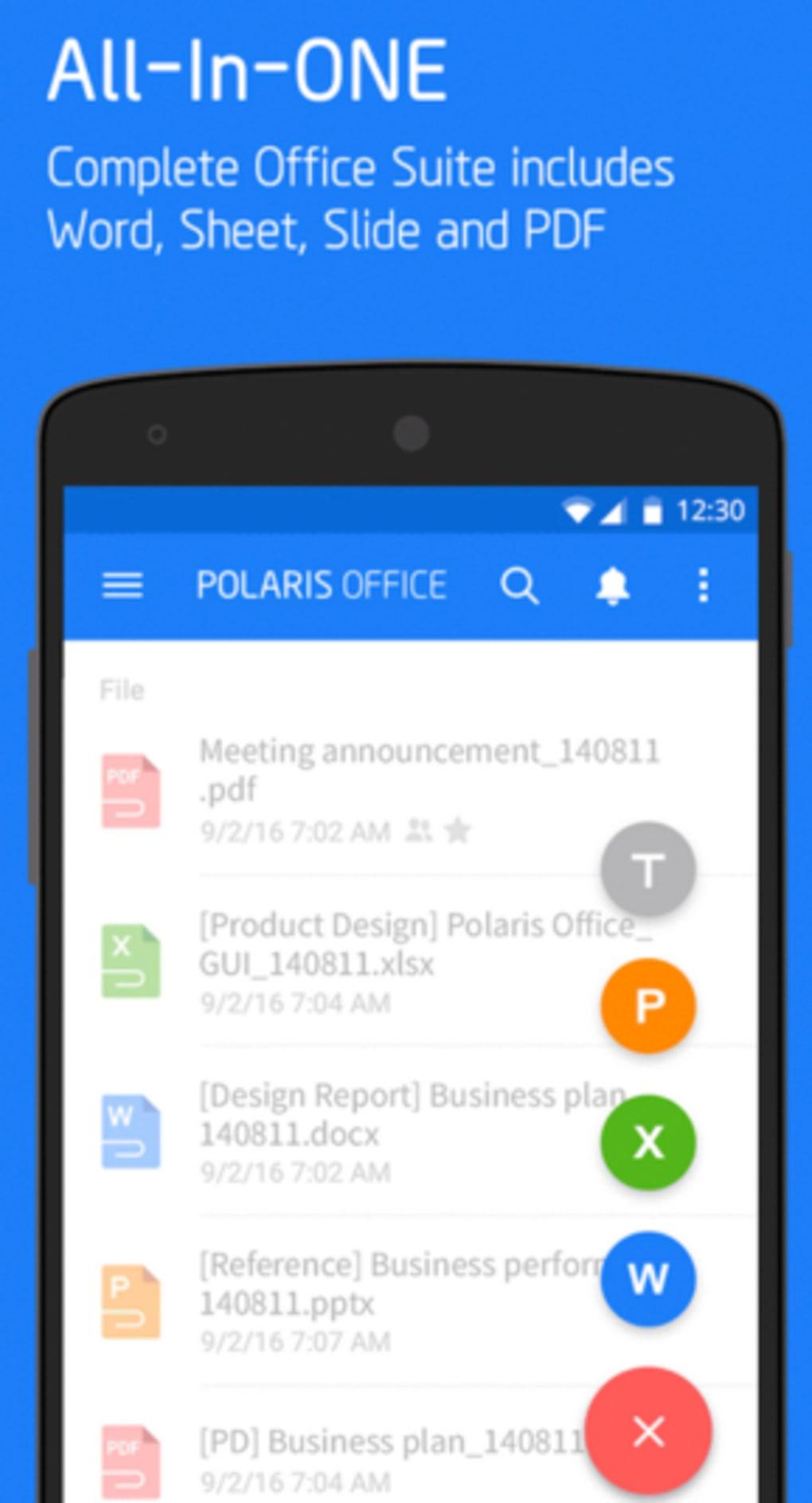 دانلود Polaris Office 9.0.3 - برنامه آفیس پولاریس /// دپویی عید
