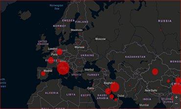 باشگاه خبرنگاران - سرعت انتشار کرونا در شهرهای کشور از روز اول تاکنون + فیلم