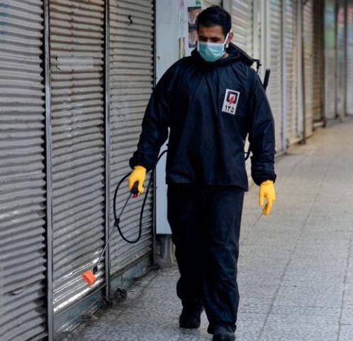 ضد عفونی مساجد و اماکن عمومی شهر سهند