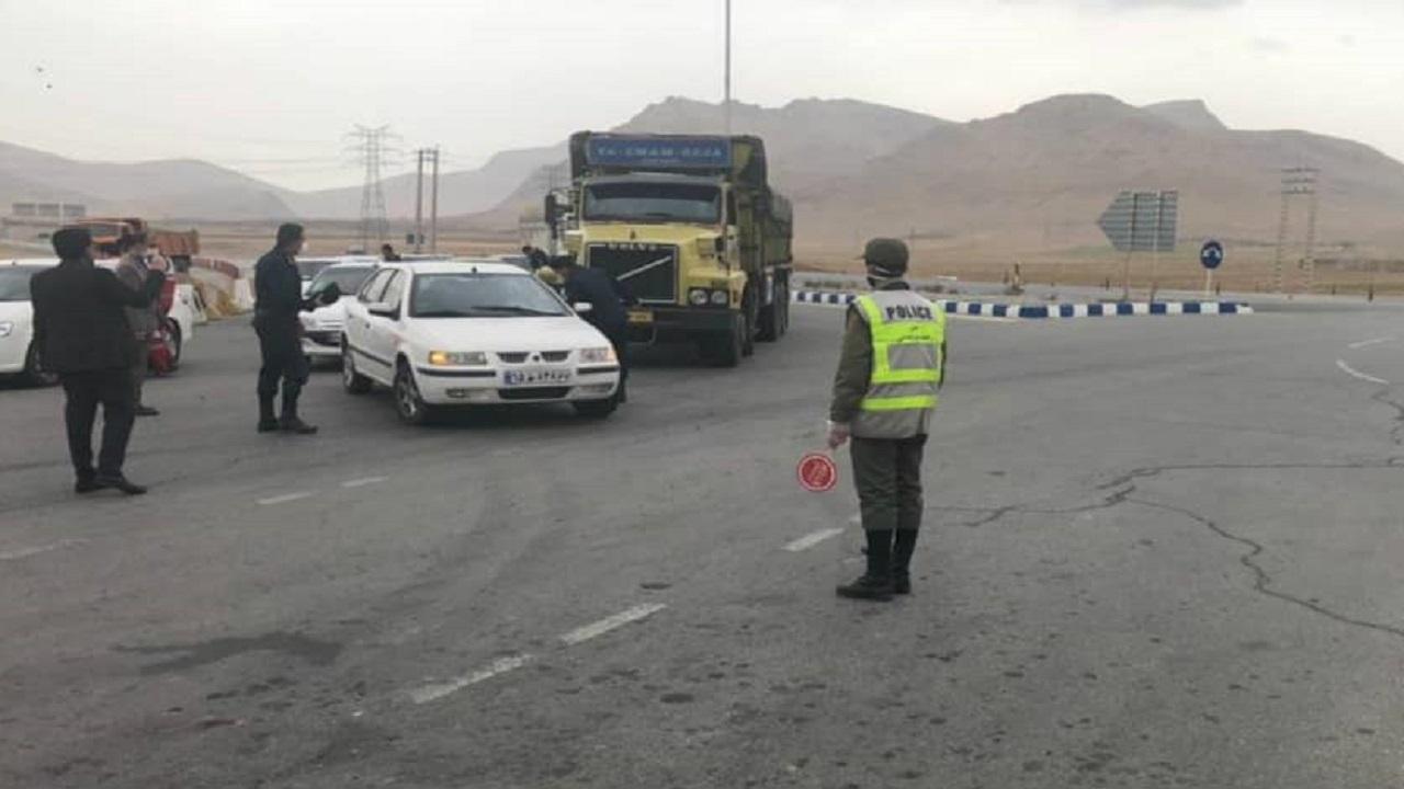 کنترل مبادی ورودی شهرکرد/ مسافران در تصمیم سفر خود به این شهرستان بازنگری کنند