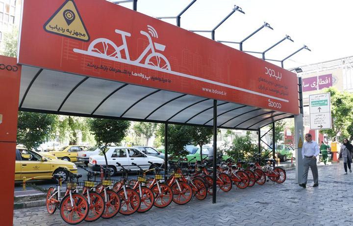 ضد عفونی روزانه دوچرخه های اشتراکی با شیوع کرونا