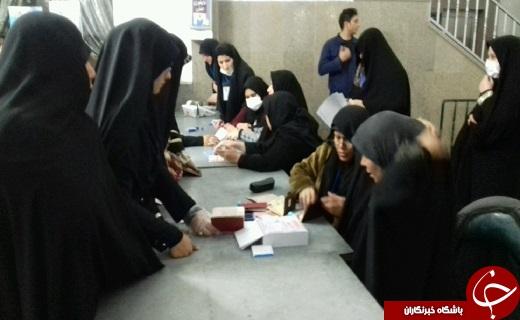 آغاز حضور پرصلابت مردم قم پای صندوق های رای+تصاویر