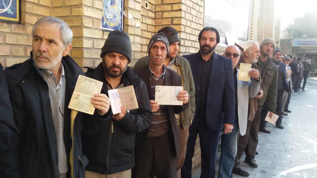 صبح پرشور انتخابات البرز