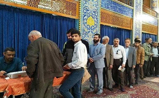 آغاز رأی گیری و خلق حماسهای دیگر در استان یزد