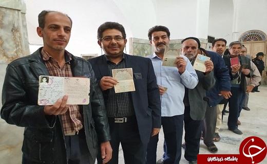حضور حماسی مردم شهرستانهای استان یزد در انتخابات