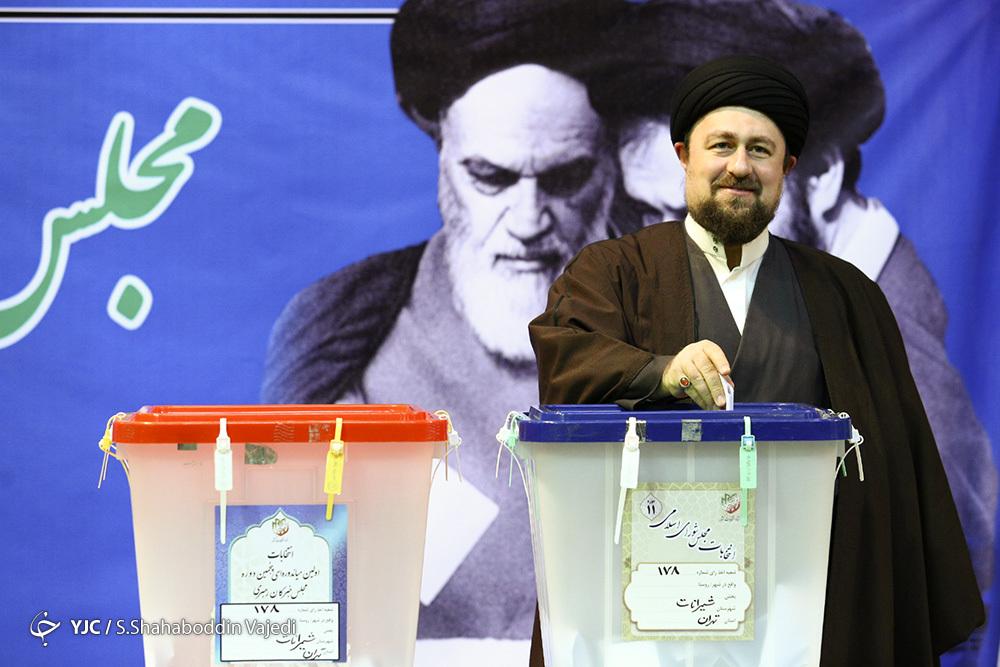 رئیس جمهور: امیدواریم انتخابات ۱۴۰۰ الکترونیکی برگزار شود/ حجت الاسلام رئیسی: انتخابات بهترین پادزهر در مقابل توطئههاست/ وزیر کشور: مردم رأی دادن را به ساعات پایانی موکول نکنند +تصاویر