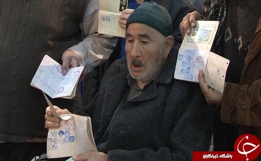 حضور مردم دارالعباده یزد در پای صندوقهای رأی به همراه تصاویر