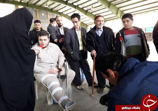 انتخابات مجلس؛کرمانشاهیان برای رقم زدن سرنوشت ایران پای کار هستند+عکس