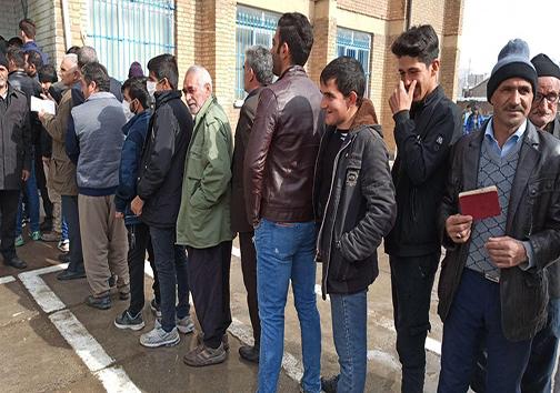حضور مردم لرستان در رای گیری یازدهمین دوره انتخابات مجلس شورای اسلامی