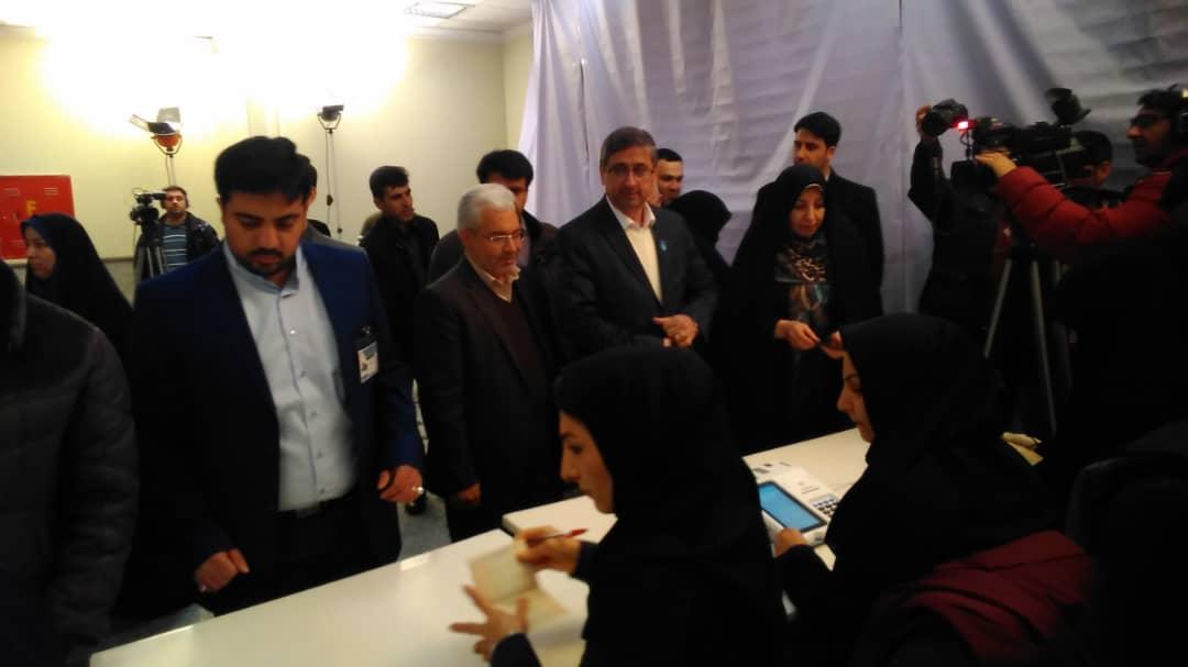 حضور پررنگ مردم همدان در پای صندوق رای