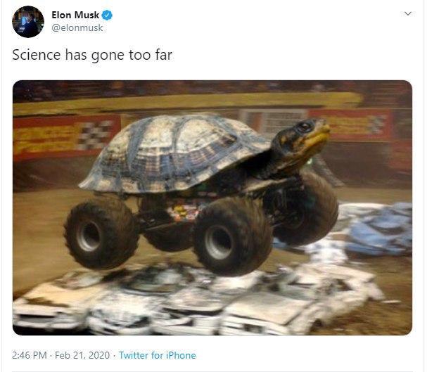 پست طنز ایلان ماسک درباره سرعت بالای پیشرفت بشر