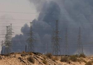 حمله نیروهای مسلح یمن به آرامکو