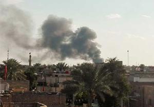 اصابت یک راکت به نزدیکی پایگاه آمریکا در موصل
