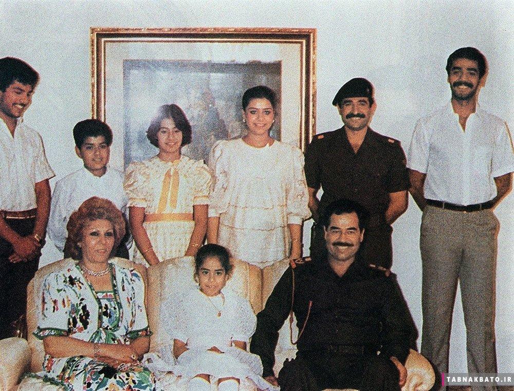 سرنوشت مرموز ساجدهطلفاح همسر اول صدام حسین