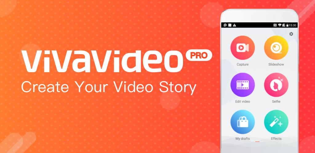 دانلود VivaVideo Pro: Video Editor 7.14.0 - برنامه پیشرفته ویرایش ویدیو