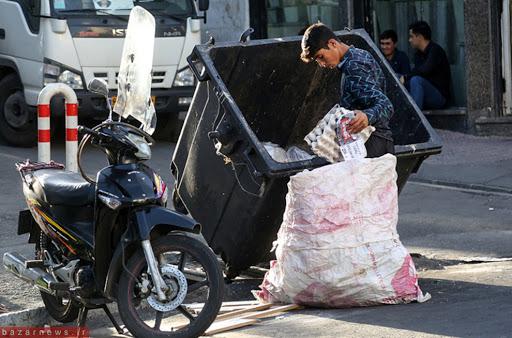 زبالهگردانی که از کرونا فراری هستند/ تلاش برای حفظ سلامت خانواده