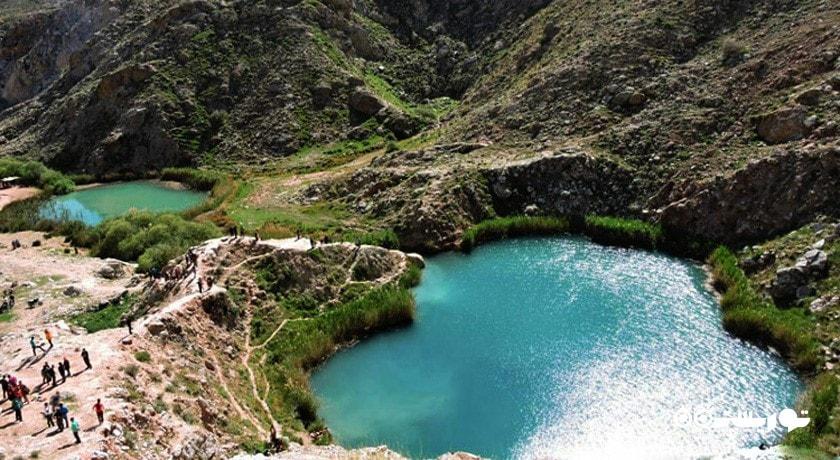 عملیات محوطهسازی دریاچههای دوقلوی ایلام آغاز میشود