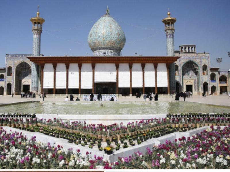 حرم شاهچراغ(ع) در شیراز تعطیل شد