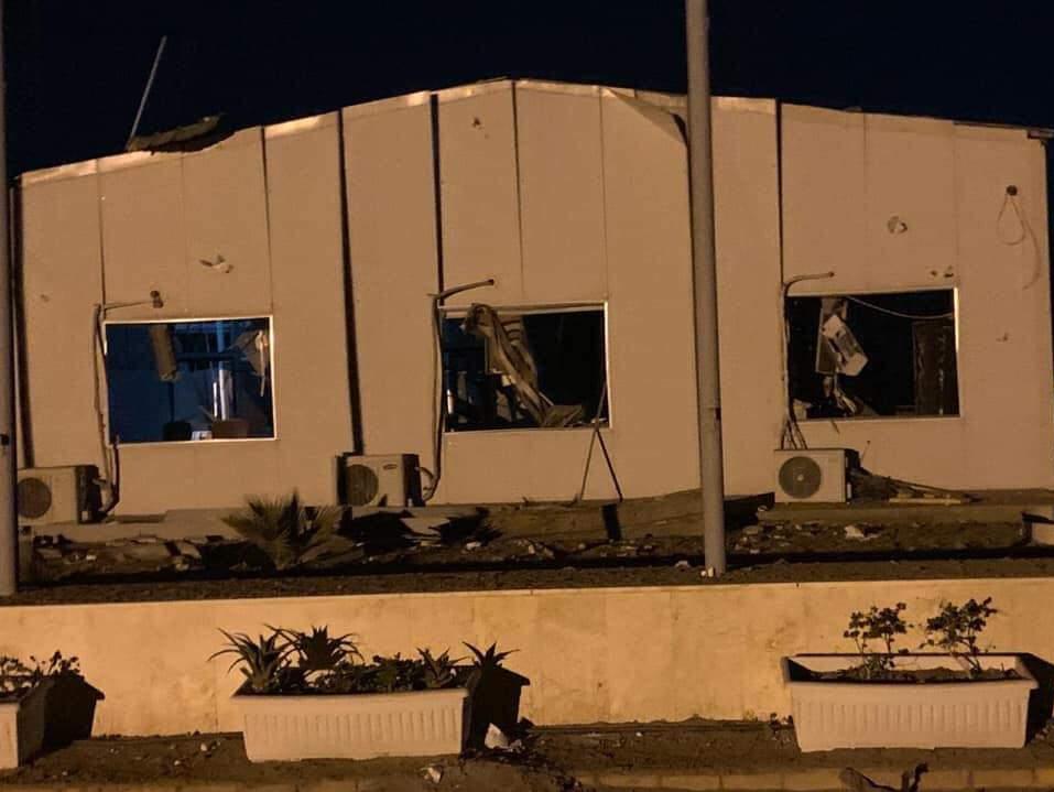 حمله جنگنده های آمریکایی به کربلا
