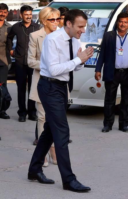 ترامپ بلاخره از کرونا ترسید/ سلام هندی ترامپ به جای دست دادن+عکس