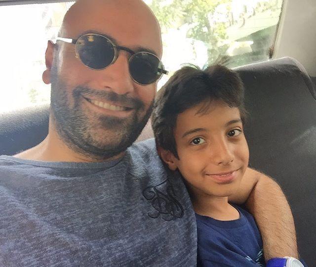 همسر ریحانه پارسا در کنار پسرش آرسام