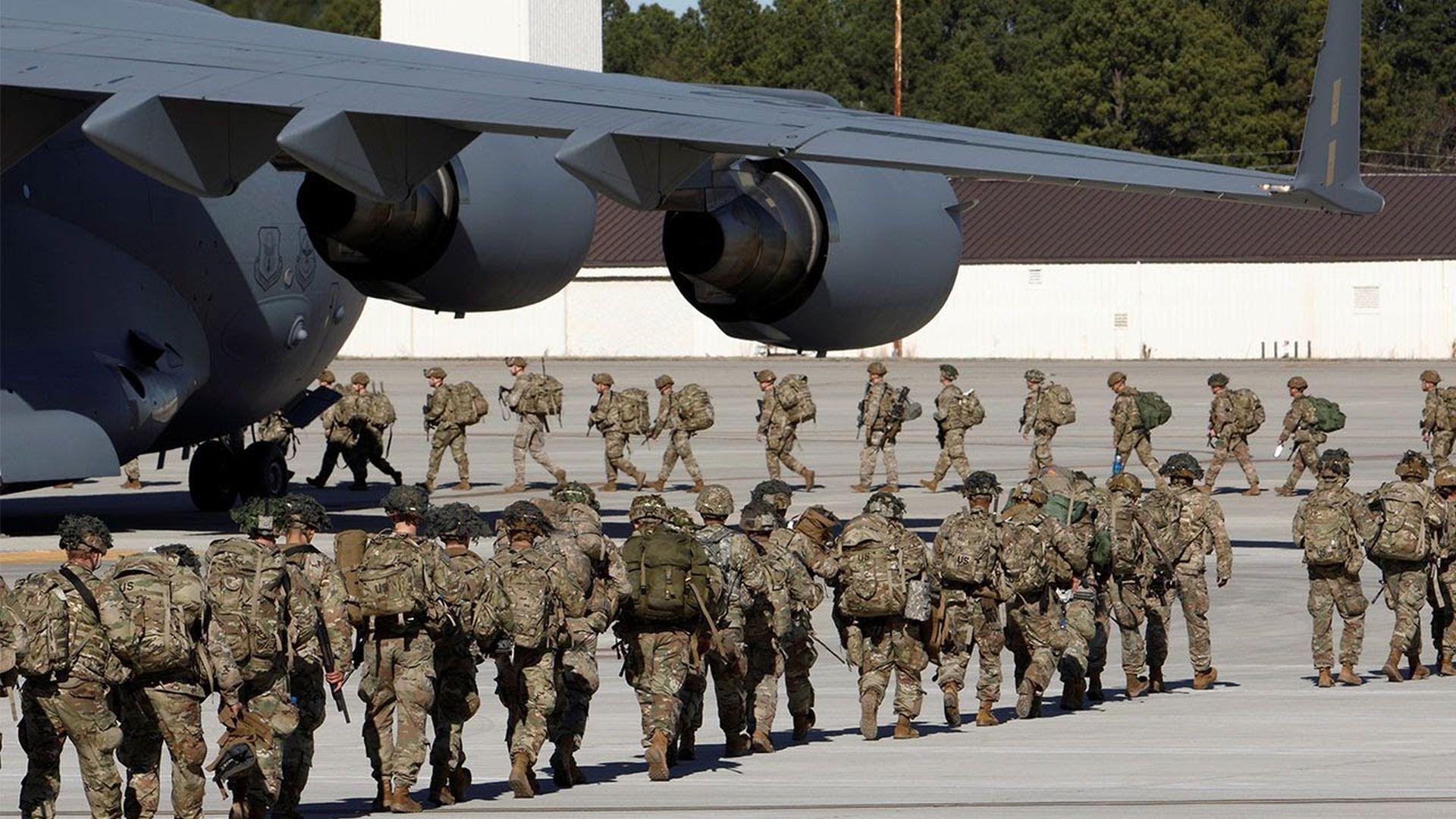 ۱۴ پایگاه آمریکا که در تیررس موشکهای مقاومت عراق قرار دارند