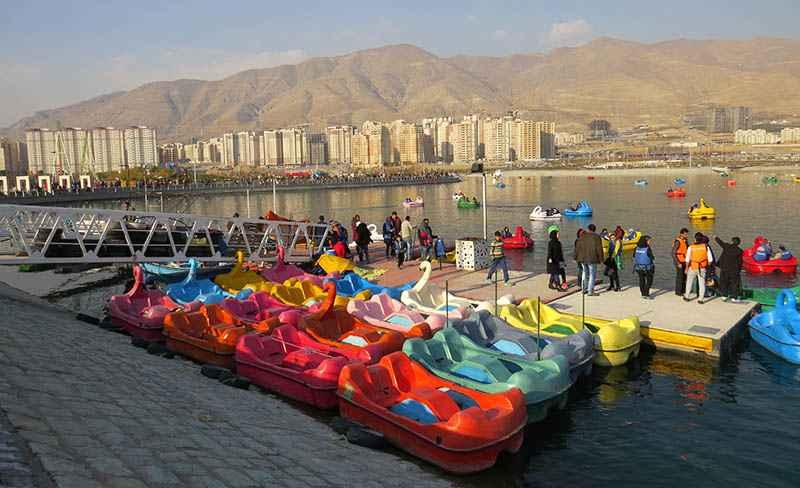 ماجرای فعالیت دریاچه و پیست دوچرخه سواری بوستان چیتگر در روزهای کرونایی