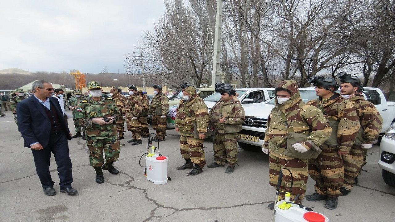 بیمارستان صحرایی ارتش آماده ارایه خدمات به مردم مراغه است