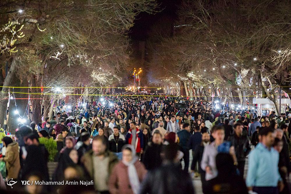 شب بازار همدان تعطیل شد