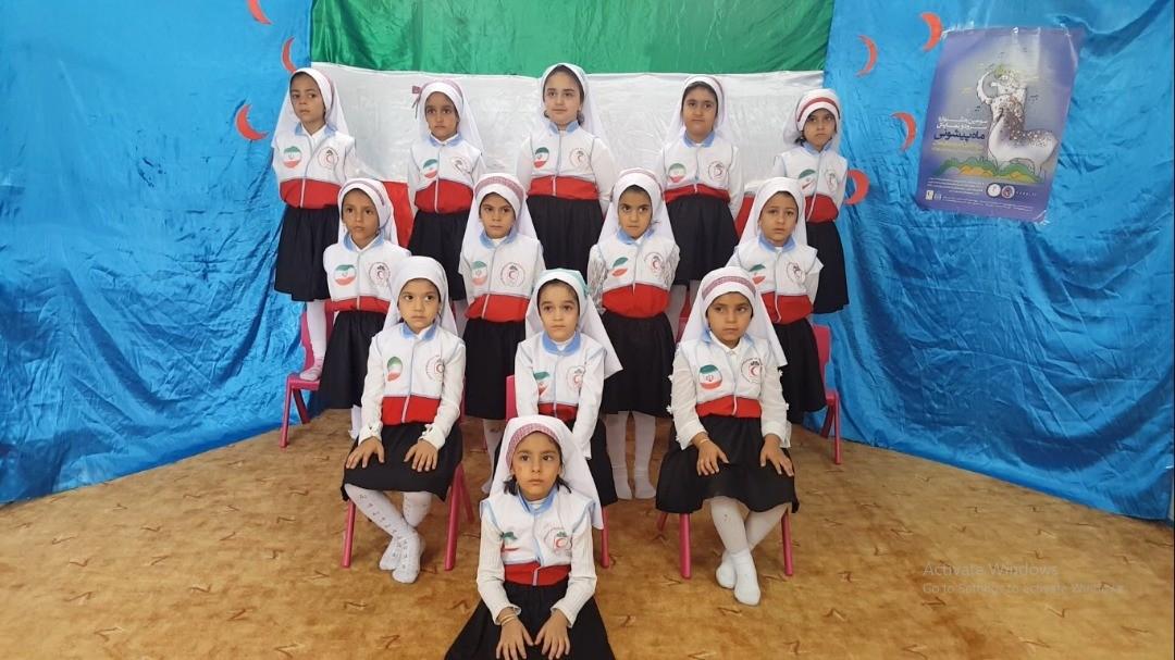 درخشش غنچههای هلال یزدی در سومین جشنواره ماه پیشونی