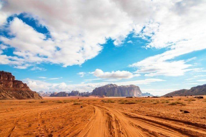 بهار لارنس؛ روستایی زیبا در اردن + تصاویر